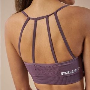 Gymshark Energy Seamless Sports Bra Purple Wash